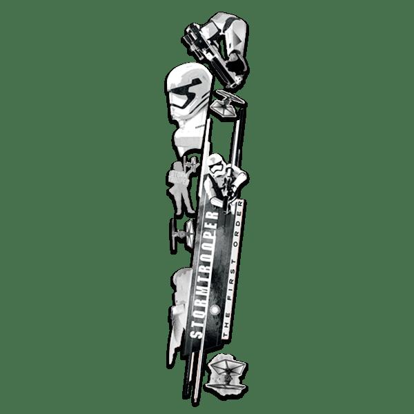 Stickers muraux: Le Réveil de la Force - Stormtrooper