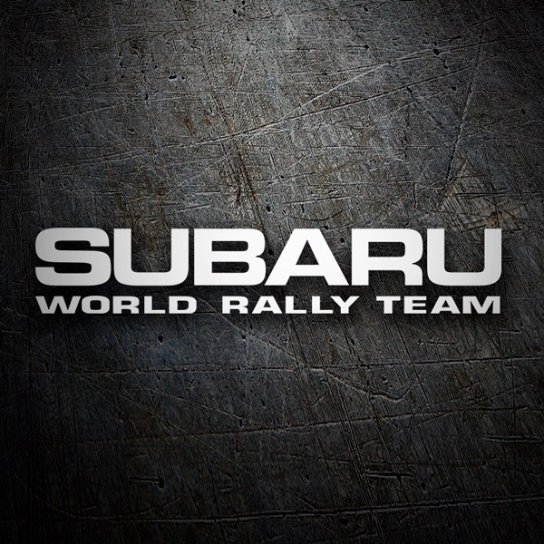 Autocollants: Subaru World Rally Team