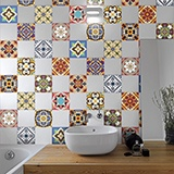 Stickers muraux: Kit 48 Stickers Carrelage Talavera 4