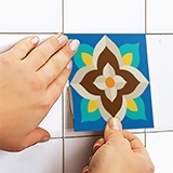 Stickers muraux: Kit 48 Stickers Carrelage Talavera 5
