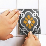 Stickers muraux: Kit 48 stickers pour Carrelage mural ornamentales 5