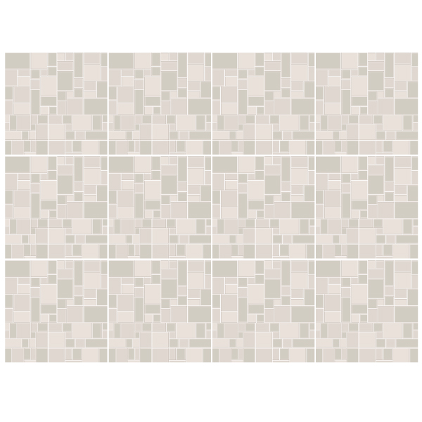 Stickers muraux: Kit 48 stickers pour Carrelage gris