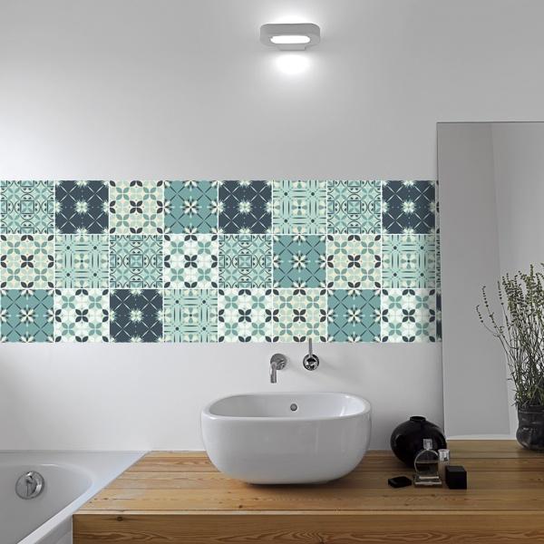 stickers sur carrelage salle de bain stickers mural de carrelage de salle de bains