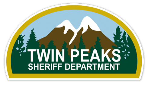 Stickers muraux: Twin Peaks Sheriff Department 0
