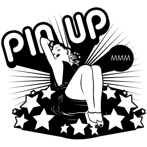 Stickers muraux: Pin Up Girl