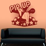 Stickers muraux: Pin Up Girl 3