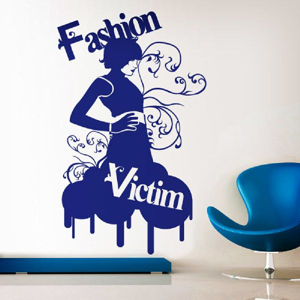 Stickers muraux: Fashion Victim