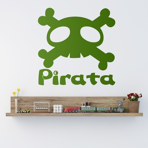 Stickers pour enfants: Grand...pirate