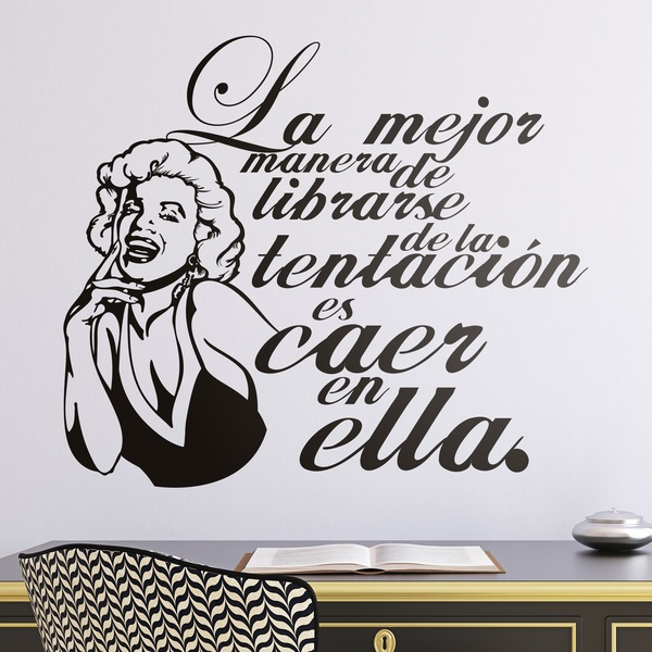 Stickers muraux: Monroe Tentation