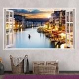 Stickers muraux: Panorama de Venise 1 3