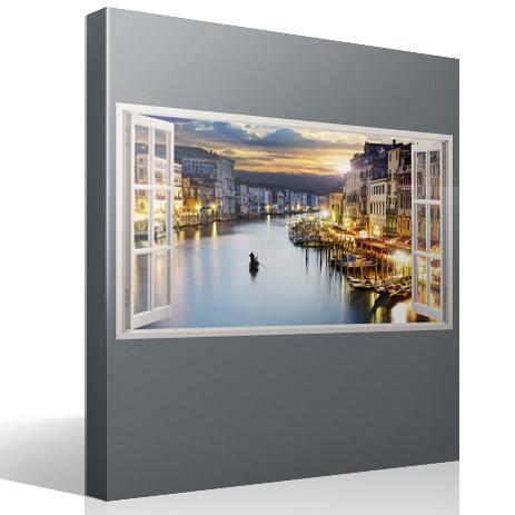 Stickers muraux: Panorama de Venise 1