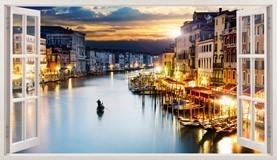Stickers muraux: Panorama de Venise 1 5