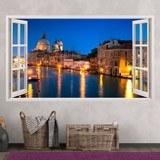 Stickers muraux: Panorama de Venise 2 3
