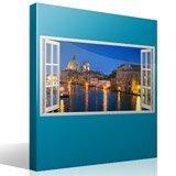 Stickers muraux: Panorama de Venise 2 4