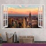 Stickers muraux: Panorama de New York 3