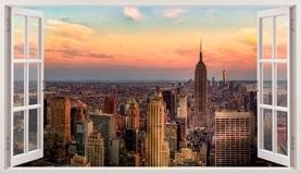 Stickers muraux: Panorama de New York 5
