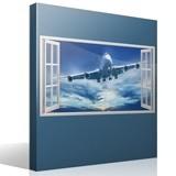 Stickers muraux: Panorama avion de ligne 1 4