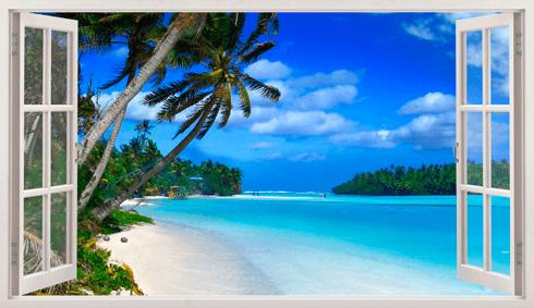 Stickers muraux: Panorama Punta Cana