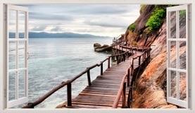 Stickers muraux: Panorama Pont sur la mer 5