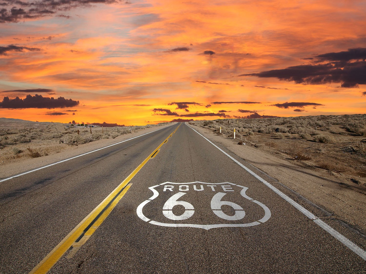 Poster xxl: Route 66